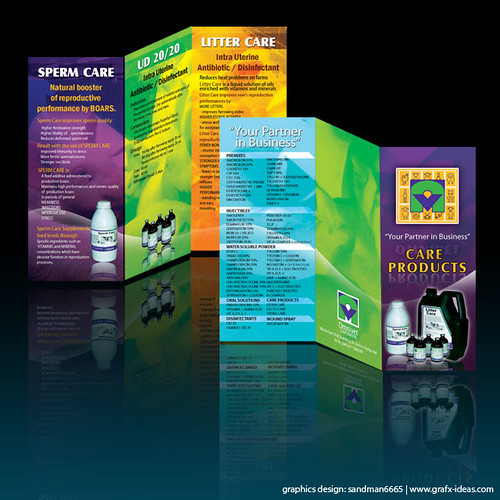 PrintSystem: Omnivet Care Products Brochure/Flyer