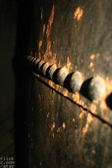 Rust and rivets.
