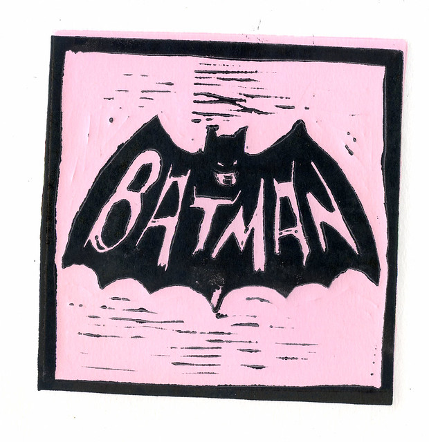 static pink batman - photo #40