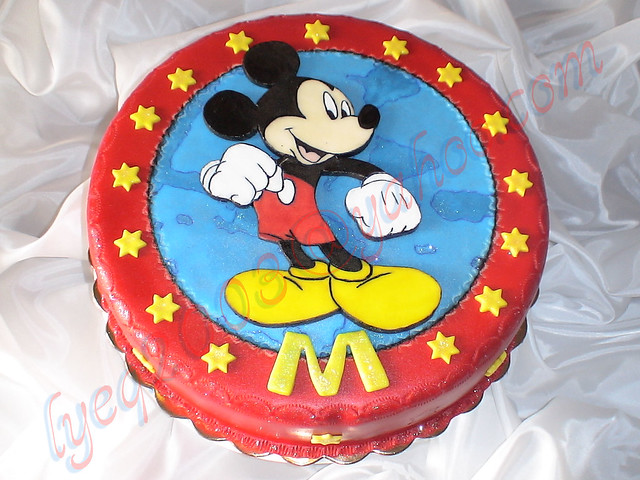 TORTA MICKEY MOUSE | Flickr - Photo Sharing!