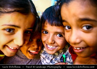 Yemen - Children of Wadi Dawan - Al Hajjarain