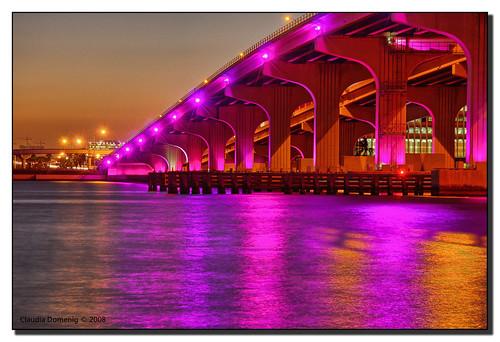 pink sunset evening purple florida miami dusk jpeg hdr watsonisland blueribbonwinner i395 supershot canonefs1785mmf456isusm 3exp macarthurcswy mywinners abigfave anawesomeshot colorphotoaward miamidadeco dphdr differentshadesofpurple