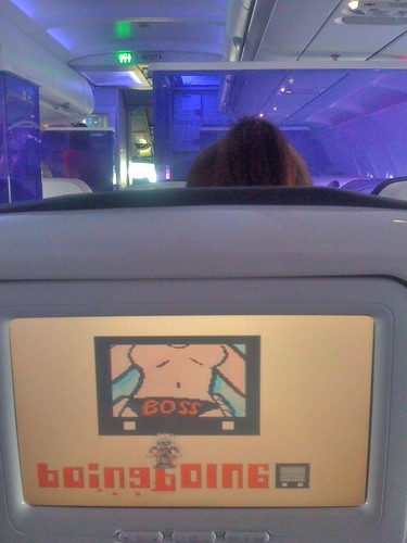Boing Boing tv on Virgin America