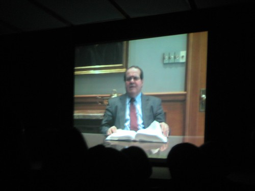 Justice Scalia Taped a Segment for the Show!