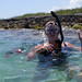 Kate Snorkels at Indian Key by Susan Sharpless Smith
