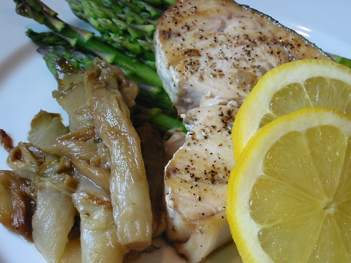 Swordfish with Braised Endive (large)