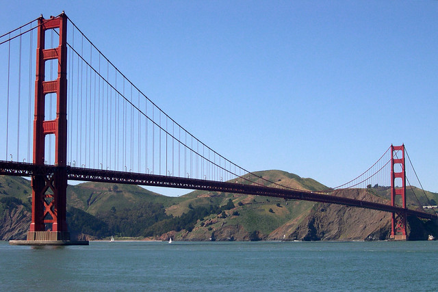 Golden Gate Bridge, from Fort Point