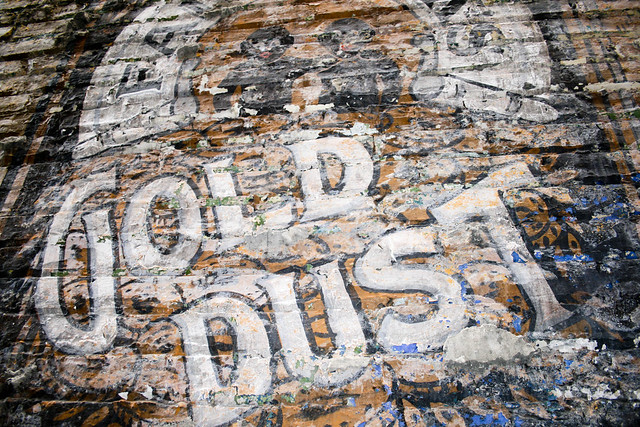 Gold Dust Wash Powder ghost sign
