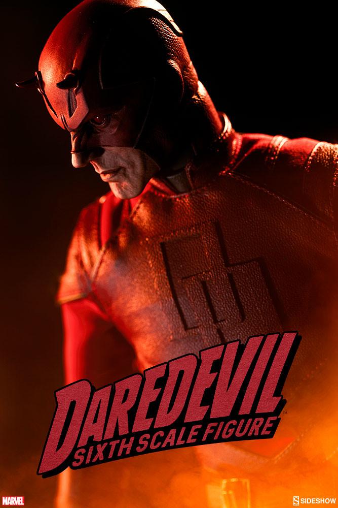 Sideshow Collectibles【夜魔俠】超級英雄計畫第四彈 Daredevil 1/6 比例人偶作品