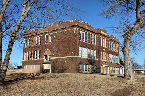 High School Building - Grafton, NE
