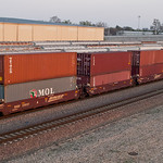 just one freight car