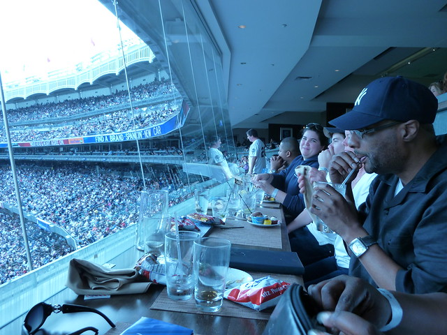 Audi Club seating at Yankee Stadium   Flickr - Photo Sharing!