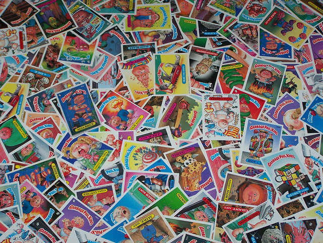 Day 73 - Garbage Pail Kids cards!
