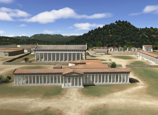 Temple of Zeus at Olympia (Scale Model)