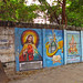 India - Sights and Culture - 024 - Epitome of painted public space