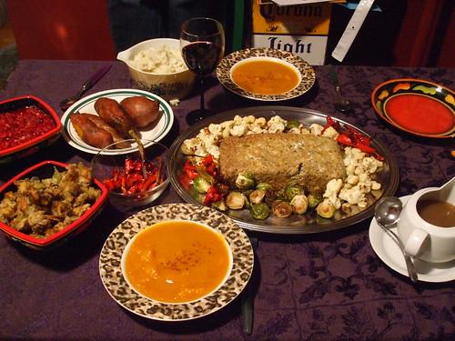 Vegan Thanksgiving 2007