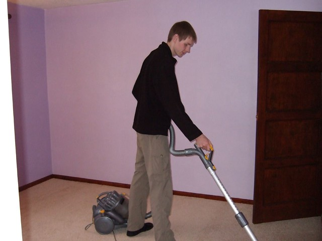 hoovering the new carpet flickr photo sharing