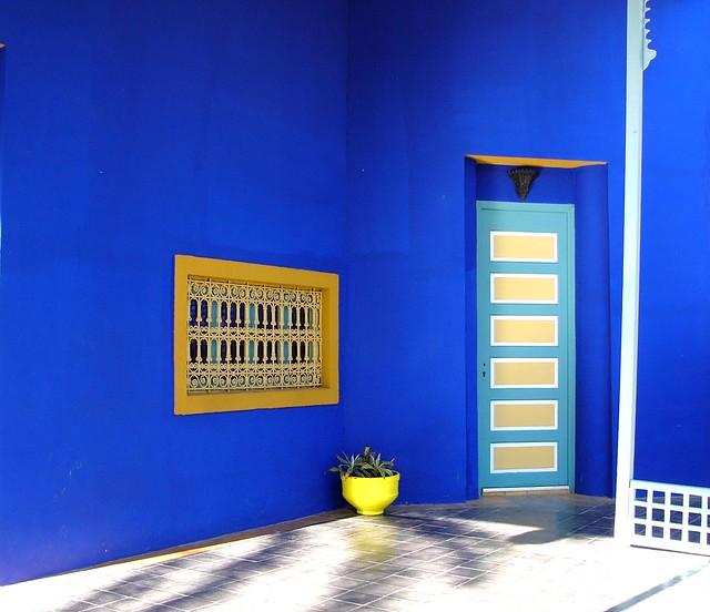 majorelle blue a gallery on flickr. Black Bedroom Furniture Sets. Home Design Ideas