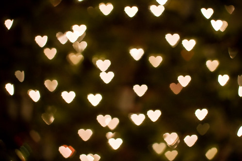 Heart Bokeh 1 - Christmas 2007 by Claytonium