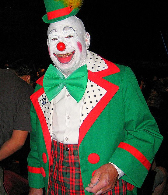Clowns - a gallery on ...