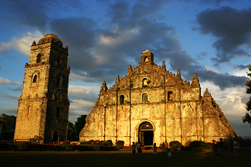 sunset heritage church coral philippines unesco ilocos paoay ilocano sibsphoenix