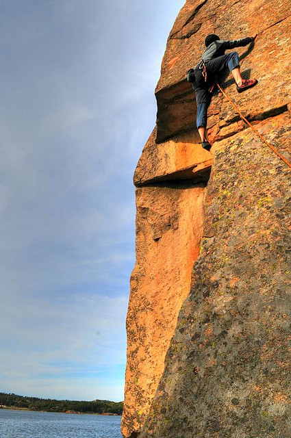 Klettern um Stockholm herum