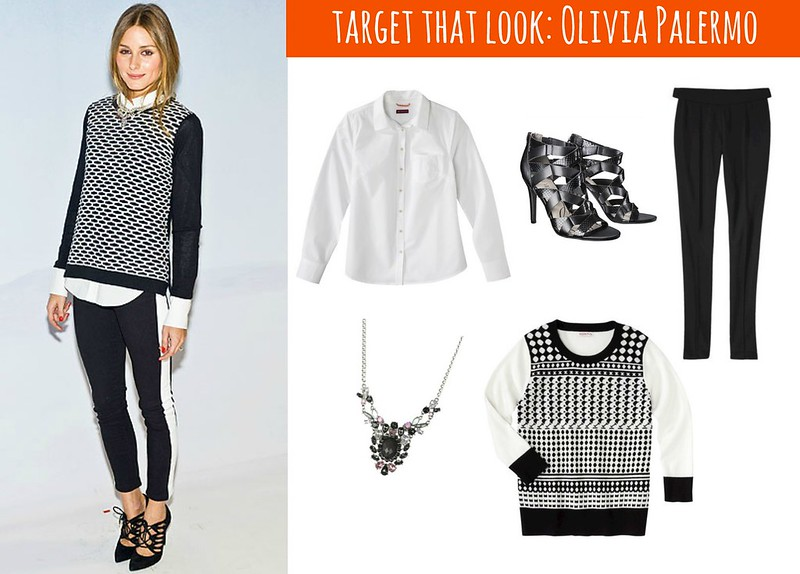 Target That Look: Olivia Palermo black and white