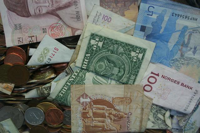 Geld regiert die Welt.