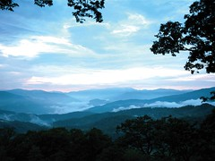 Blue Ridge Mountain Range