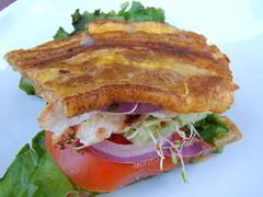blt, sandwich, meal, breakfast, fried food, meat, food, dish, cuisine,