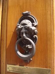 carving, door knocker,