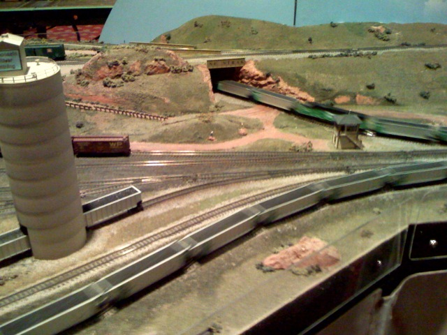 N scale coal structures 7th