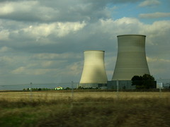 cloud, wind, cooling tower, tower, power station, nuclear power plant,
