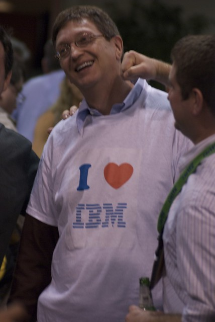 'Bill Gates' loves IBM