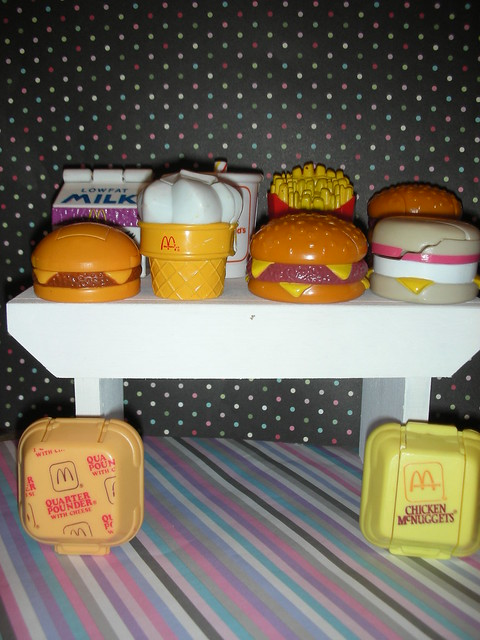 set of ten mcdonald 39 s robo food toys flickr photo sharing. Black Bedroom Furniture Sets. Home Design Ideas