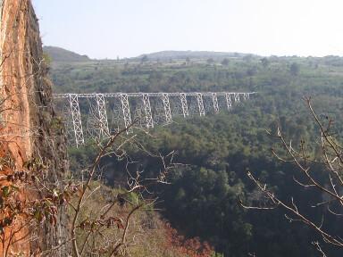 Gokteik Viaduct - near Hsipaw, Myanmar