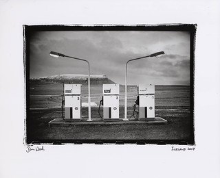 iceland petrol pumps , new
