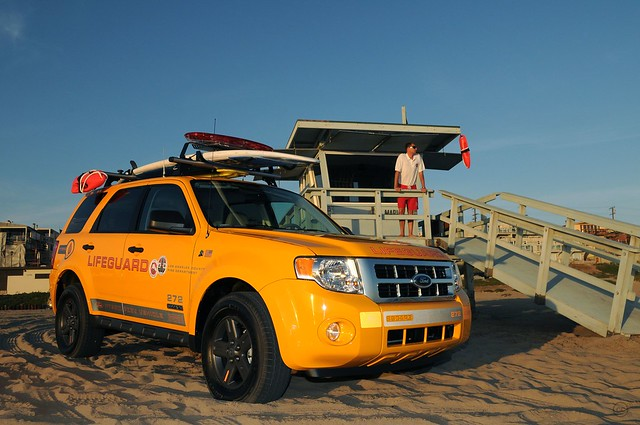 Ford Escape Hybrid Lifeguard Vehicles Los Angeles May