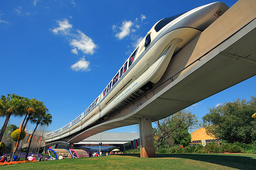 Walt Disney World - Epcot - Mark VI Monorail