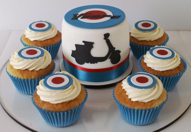 Vespa Cakes  Flickr - Photo Sharing!