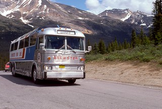 Tour Stop (7) Peyto Lake AB - July 1977