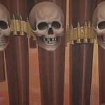 Skulls, Soviet Mural - Bishkek, Kyrgyzstan