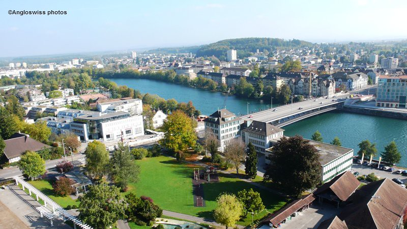 Röti Bridge, River Aare, Solothurn