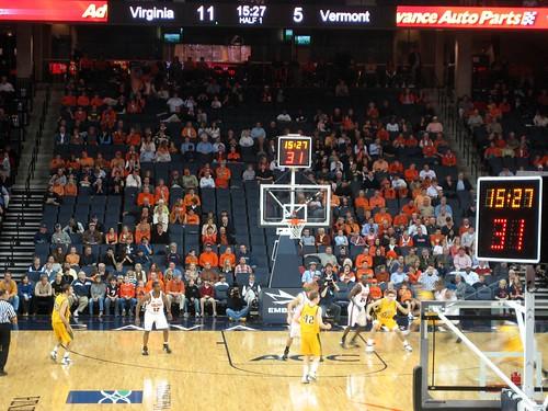 Vermont v. Basketball