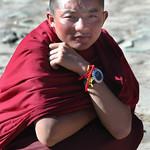 Novice Tibetan Monk - Xiahe, China
