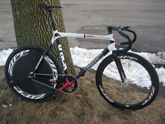 Bergamot track bike single
