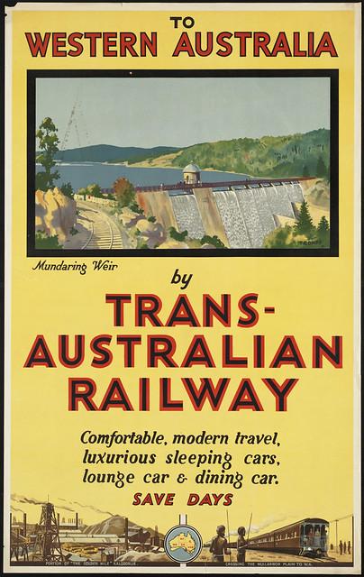To Western Australia by Trans-Australian Railway