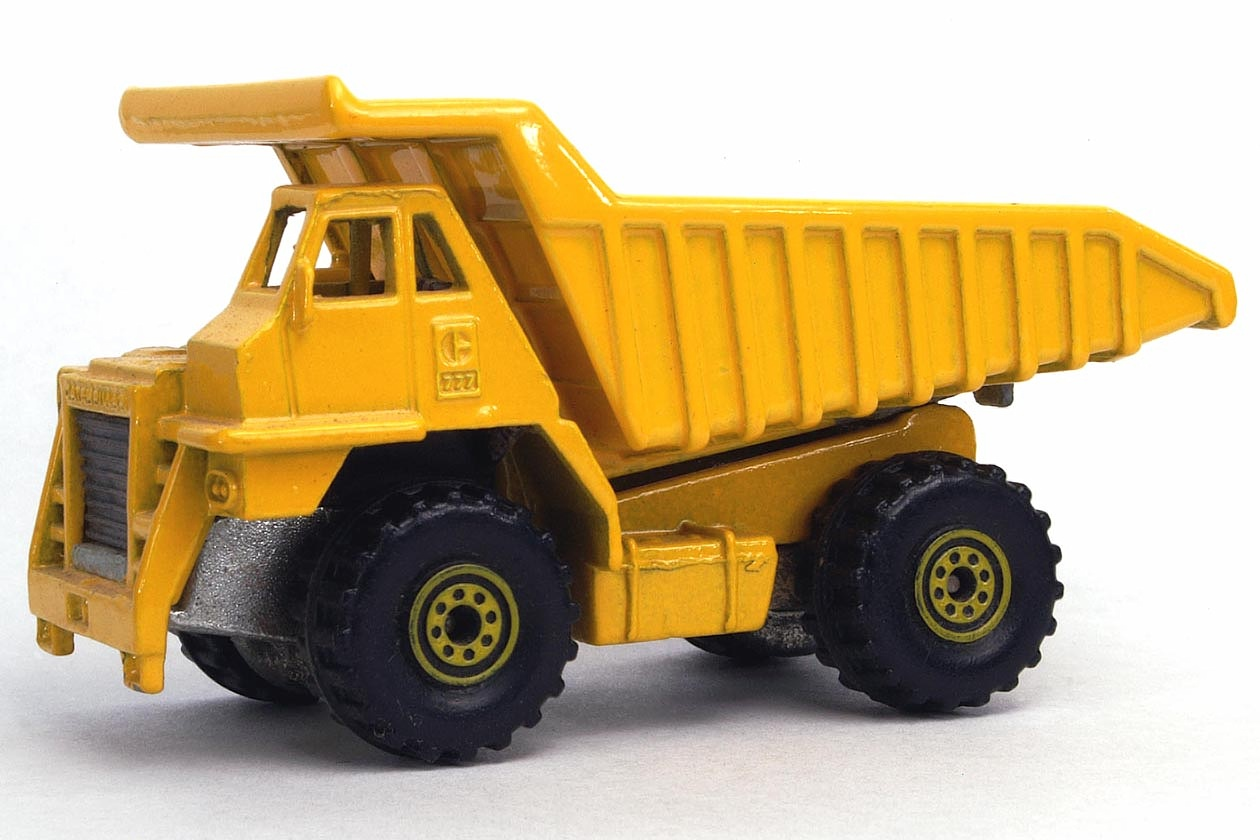 Side View Picture Cat Dump Truck