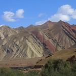 Mountain Scenes from Osh to Sary Tash, Kyrgyzstan