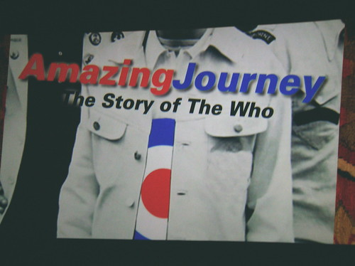 The Who - Amazing Journey premiere